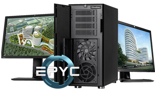 AMD EPYC based Workstation