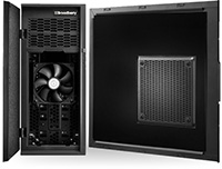 Open silent workstation case