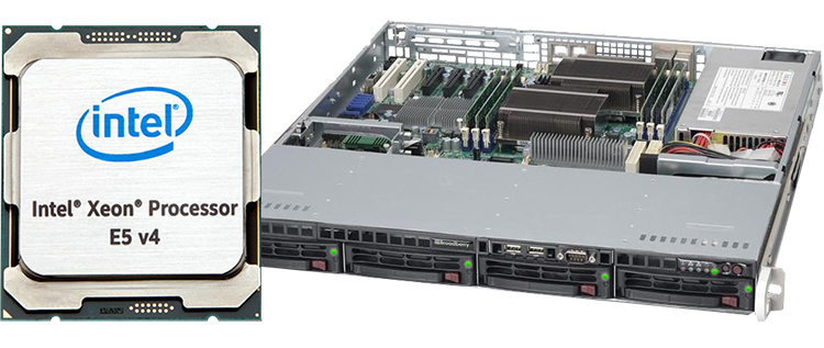 Broadberry server powered by Intel Xeon e5 processor